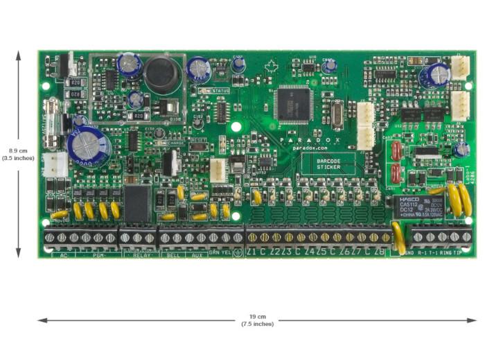 Paradox Alarm Systems Control Panel SP6000