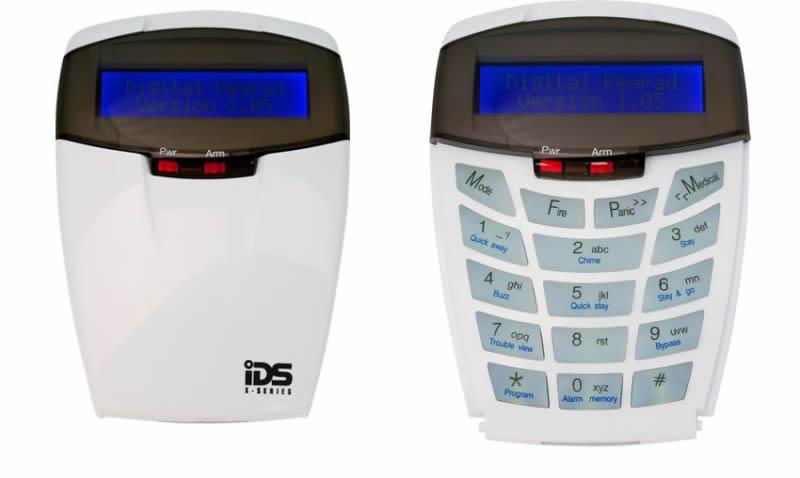 Ids Inhep Alarm Control Panels Ids X64 Alarm Ids X64 Lcd